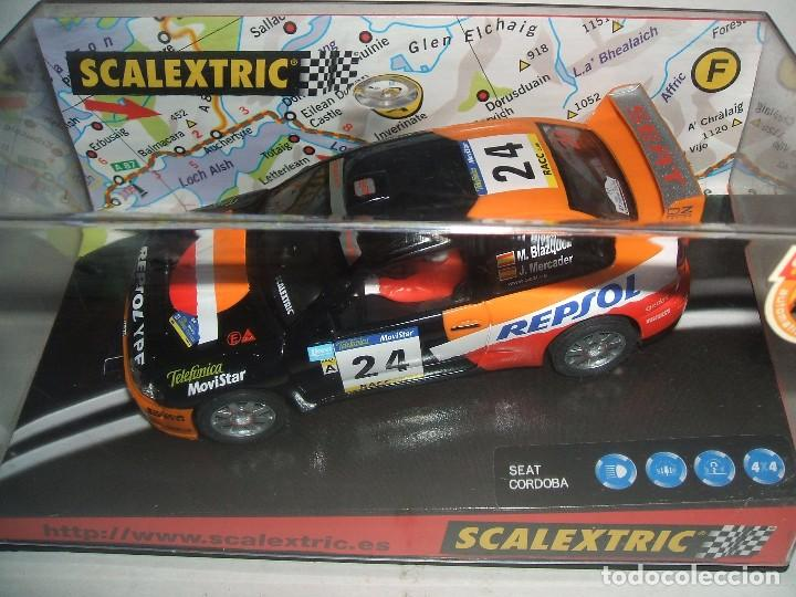 SCALEXTRIC SEAT CORDOBA REPSOL REF.-6075 (Juguetes - Slot Cars - Scalextric Tecnitoys)