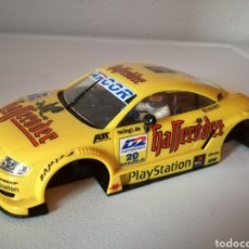 Scalextric: CARROCERIA Y CHASIS AUDI TT NINCO TIPO SCALEXTRIC. Lote 104736778