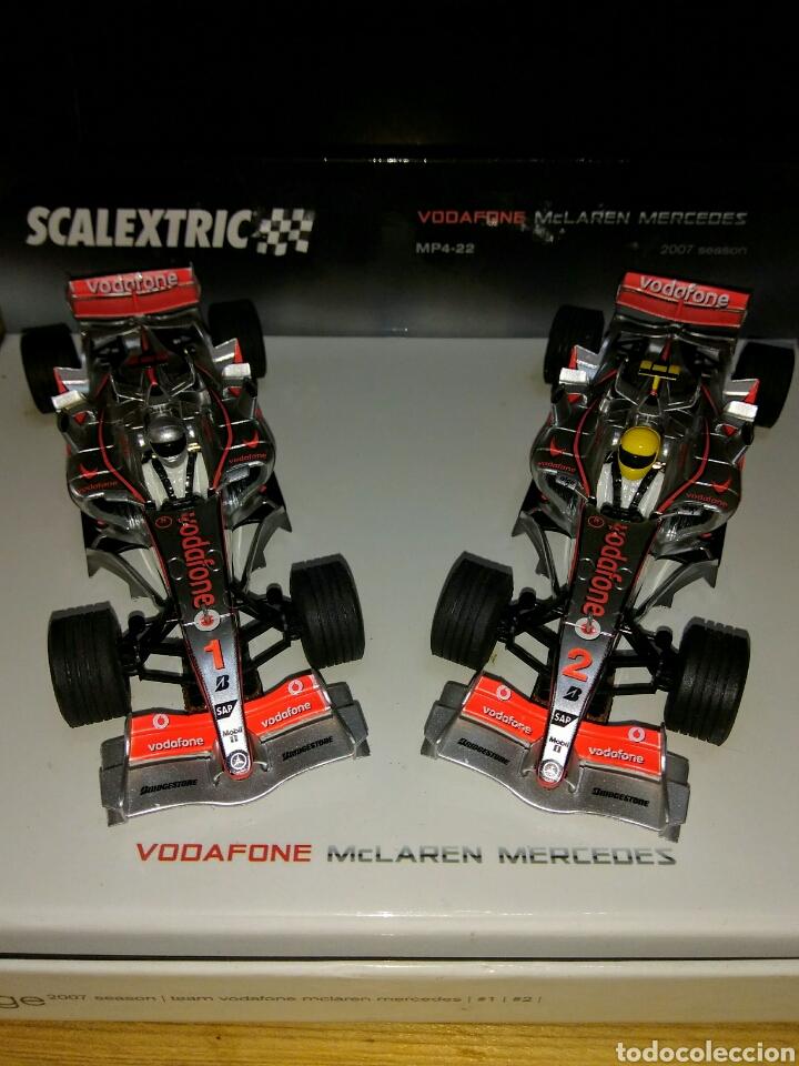 DOS COCHES MCLAREN MERCEDES 2007 (Juguetes - Slot Cars - Scalextric Tecnitoys)