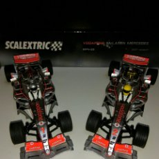 Scalextric: DOS COCHES MCLAREN MERCEDES 2007. Lote 105591231