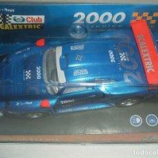 Scalextric: SCALEXTRIC PORSCHE 911 GT1 REF.- 6043. Lote 107010891