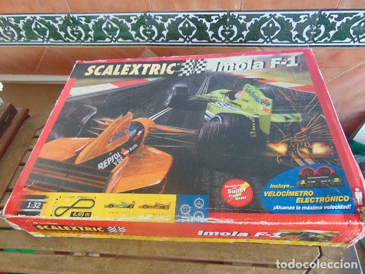 CAJA CIRCUITO DE SCALEXTRIC IMOLA F1 (Juguetes - Slot Cars - Scalextric Tecnitoys)