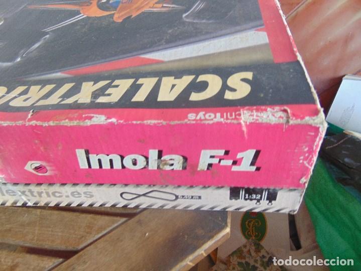 Scalextric: CAJA CIRCUITO DE SCALEXTRIC IMOLA F1 - Foto 5 - 108702543