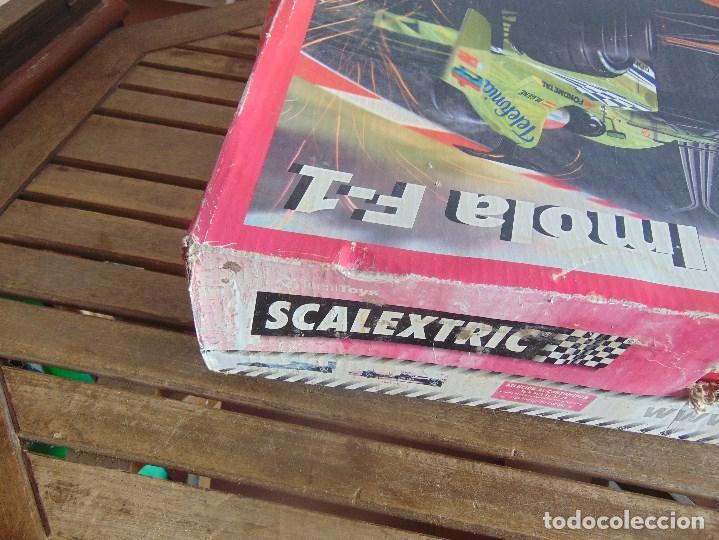 Scalextric: CAJA CIRCUITO DE SCALEXTRIC IMOLA F1 - Foto 7 - 108702543