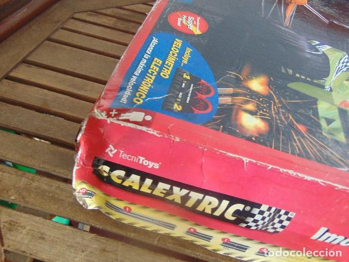 Scalextric: CAJA CIRCUITO DE SCALEXTRIC IMOLA F1 - Foto 9 - 108702543