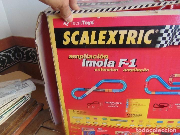 Scalextric: CAJA CIRCUITO DE SCALEXTRIC IMOLA F1 - Foto 11 - 108702543