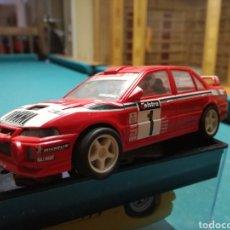 Scalextric: MITSUBISHI EVO , RACING, SCALEXTRIC. Lote 109090606