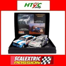 Scalextric: SCALEXTRICPASSION PEUGEOT 206 / FIAT 131 GRONHOLM LEGACY 1000 LAGOS / KENIA SP028. Lote 107638923