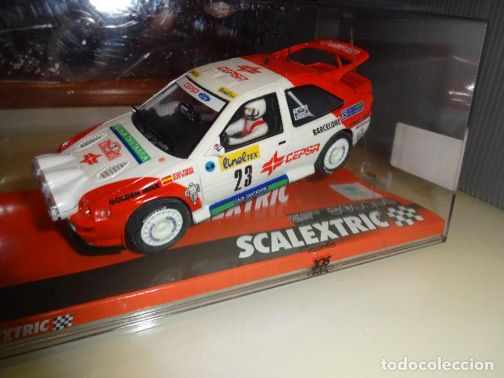 SCALEXTRIC. FORD ESCORT RS COSWORTH. PURAS. MONTECARLO. REF. A10196S300 (Juguetes - Slot Cars - Scalextric Tecnitoys)