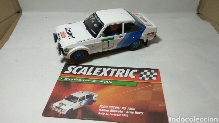 FORD ESCORT RS 1600 SCALEXTRIC ALTAYA CAMPEONES DE RALLY (Juguetes - Slot Cars - Scalextric Tecnitoys)