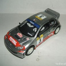 Scalextric: SCALEXTRIC PEUGEOT 206 WRC. Lote 110237271