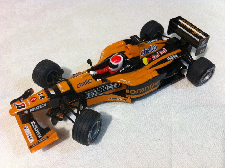 SCALEXTRIC TECNITOYS ARROWS F1 RED BULL - JOS VERSTAPPEN (Juguetes - Slot Cars - Scalextric Tecnitoys)