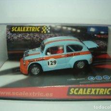 Scalextric: FIAT ABARTH GULF DE SCALEXTRIC TECNITOYS 1,32. Lote 111438047
