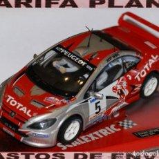 Scalextric: PEUGEOT 307 WRC ESCALA 1:32 DE SCALEXTRIC EN CAJA. Lote 111859627