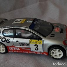 Scalextric: COCHE SCALEXTRIC TECNITOYS - PEUGEOT 206 WRC. Lote 112254415