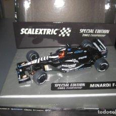 Scalextric: BUSCADISIMO - MINARDI F1 EDICION ESPECIAL 2001 CHAMPIONSHIP DE ALONSO DE SCALEXTRIC. Lote 112876635