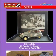 Scalextric: SCALEXTRICPASSION SP004 CITROEN 2CV. Lote 113001135