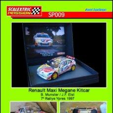 Scalextric: SCALEXTRICPASSION SP009 RENAULT MAXI MEGANE KITCAR. Lote 113003359