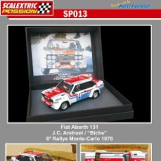 Scalextric: SCALEXTRICPASSION SP013 FIAT ABARTH 131. Lote 113005755