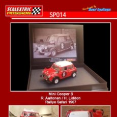 Scalextric: SCALEXTRICPASSION SP014 MINI COOPER S. Lote 113006103
