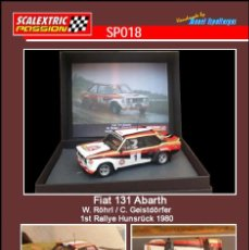 Scalextric: SCALEXTRICPASSION SP018 FIAT 131 ABARTH. Lote 113007983