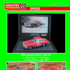 Scalextric: SCALEXTRICPASSION SP026 MERCEDES-BENZ 230 SL. Lote 113012187