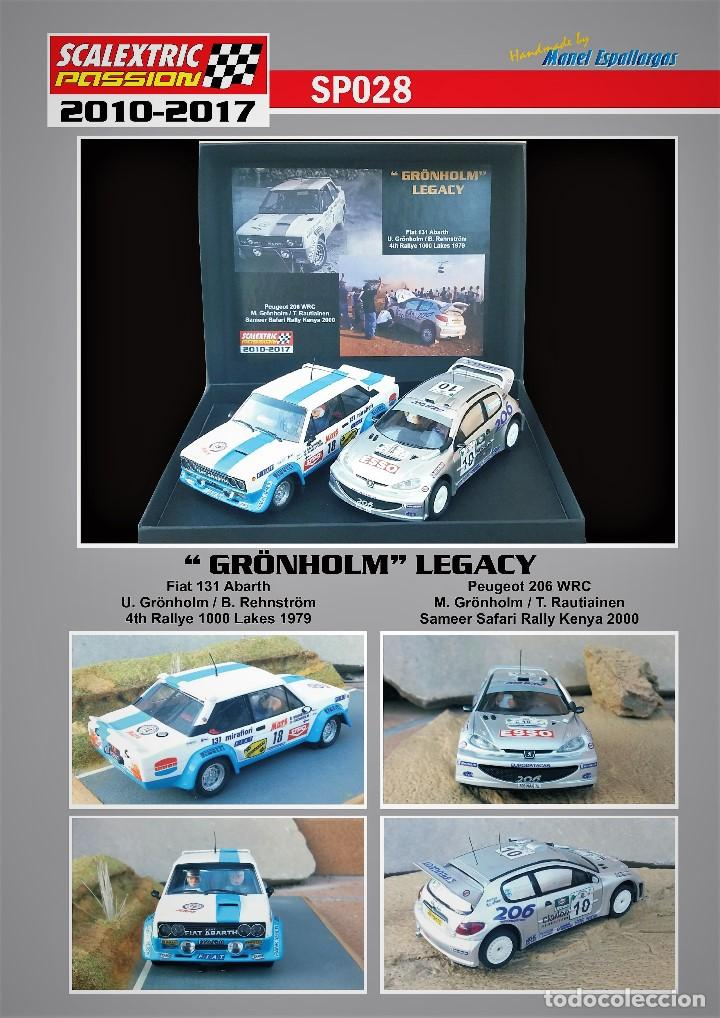 SCALEXTRICPASSION SP028 GRONHOLM LEGACY (Juguetes - Slot Cars - Scalextric Tecnitoys)