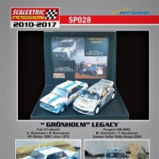 Scalextric: SCALEXTRICPASSION SP028 GRONHOLM LEGACY. Lote 113013555