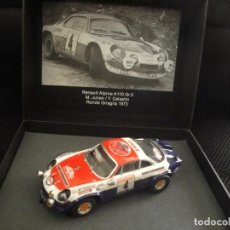 Scalextric: SCALEXTRIC RENAULT ALPINE A110 GR.5. Lote 113015227