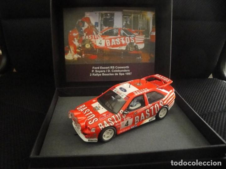 SCALEXTRIC FORD ESCORT RS COSWORTH (Juguetes - Slot Cars - Scalextric Tecnitoys)