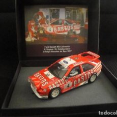 Scalextric: SCALEXTRIC FORD ESCORT RS COSWORTH. Lote 113016755