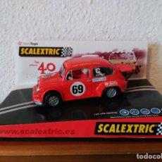 Scalextric: SEAT 600 ABARTH 40 ANIVERSARIO. Lote 113075931