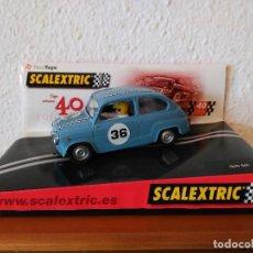 Scalextric: SCALEXTRIC SEAT 600 40 ANIVERSARIO. Lote 113077379