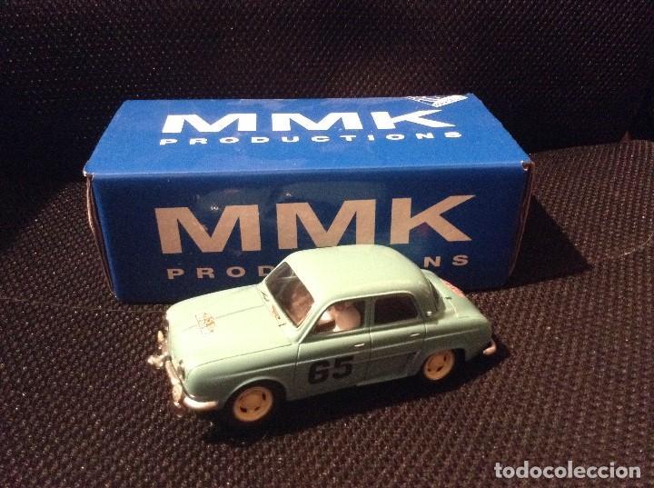 SCALEXTRIC RENAULT DAUPHINE RALLYE MONTECARLO 1958 SLOTKLASS (Juguetes - Slot Cars - Scalextric Tecnitoys)