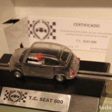 Scalextric: SCALEXTRIC T.C. SEAT 600 TRANSPARENTE. Lote 114480619