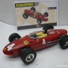 Scalextric: SCALEXTRIC ALTAYA TECNITOYS - COCHE DE CARRERAS FERRARI 156 F-1. Lote 116750167
