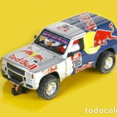 Scalextric: SCALEXTRIC NISSAN PATROL TT RED BULL. Lote 117233439