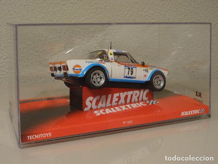 Scalextric: NUEVO A ESTRENAR COCHE SCALEXTRIC RALLY SLOT FLY TEAMSLOT FIAT 124 SPYDER - Foto 3 - 117487691