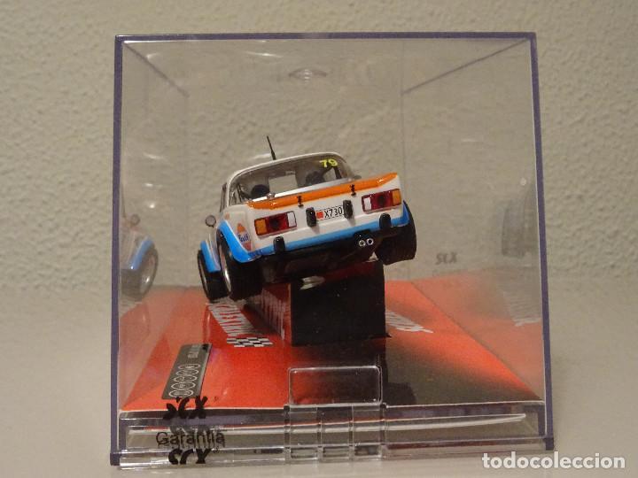 Scalextric: NUEVO A ESTRENAR COCHE SCALEXTRIC RALLY SLOT FLY TEAMSLOT FIAT 124 SPYDER - Foto 4 - 117487691
