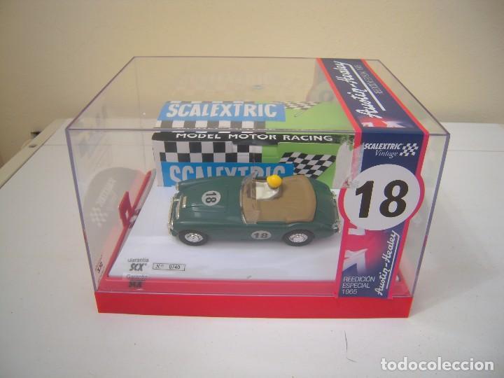 REEDICION ESPECIAL 1965 AUSTIN-HEALEY A ESTRENAR (Juguetes - Slot Cars - Scalextric Tecnitoys)