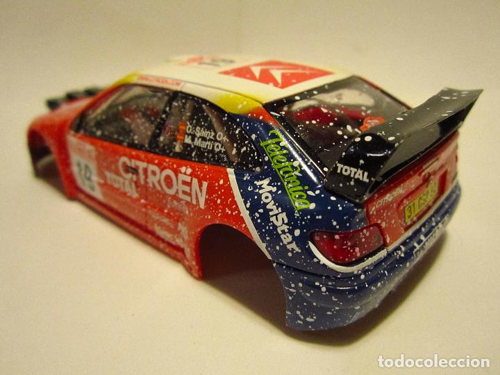 Scalextric: CARROCERIA CITROEN XSARA WRC SCALEXTRIC - Foto 2 - 141971781