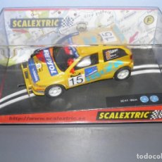 Scalextric: SEAT IBIZA KIT CAR SAFARI SCALEXTRIC. Lote 121841591