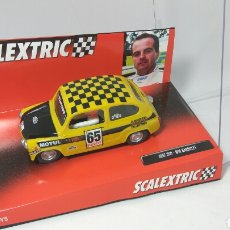 Scalextric: SEAT 600 SEAT SPORT SCALEXTRIC TECNITOYS REF. 6511. Lote 121557763
