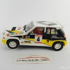 Scalextric: RENAULT 5 MAXI TURBO SCALEXTRIC. Lote 121725783