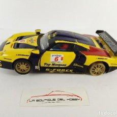Scalextric: PORSCHE 911 GT1 PENNZOIL SCALEXTRIC 6015. Lote 121751703