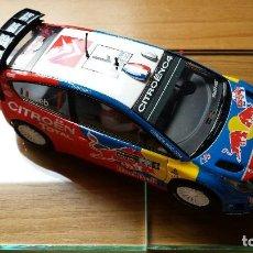 Scalextric: SLOT SCALEXTRIC CITROEN C4 WRC LOEB.. Lote 122389035