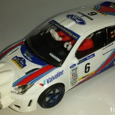 Scalextric: SLOT SCALEXTRIC FORD FOCUS WRC Nº6. Lote 122435311
