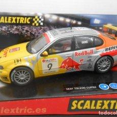 Scalextric: 13. SCALEXTRIC COCHE SEAT TOLEDO CUPRA GENE REF 6141 RALLY RALLYE TECNITOYS SLOT CAR . Lote 125059331