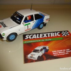 Scalextric: SCALEXTRIC. ALTAYA. FORD ESCORT RS 1800. MIKKOLA. Lote 184171077