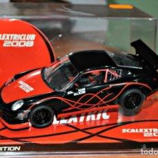 Scalextric: PORSCHE 911 GT3 CUP. COCHE DEL CLUB SCALEXTRIC 2008. Lote 126358967
